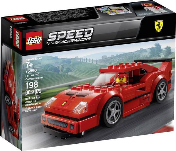LEGO Speed Champions - Ferrari F40 Competizione (75890) und Rennwagen Chevrolet Camaro ZL1 (75891) für 10,43€ [Thalia KultClub]
