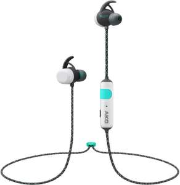 AKG N200A Wireless Bluetooth-Kopfhörer weiß ( IPX7, 8 Stunden Akkulaufzeit )