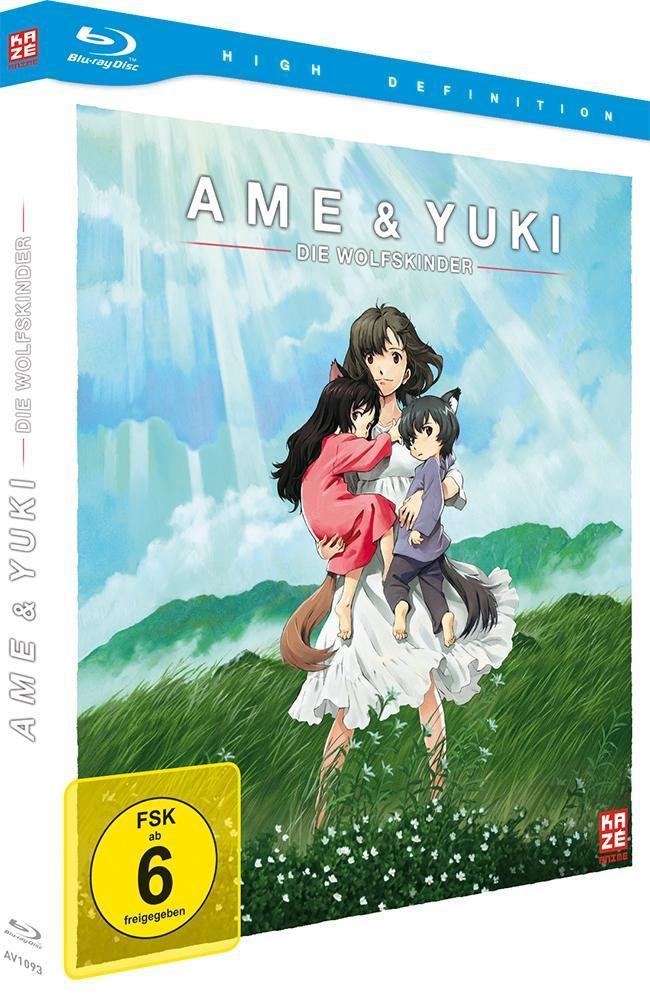 Ame & Yuki - Die Wolfskinder [Blu-ray] Limited Edition für 9,99€ inkl. Versand bei Hugendubel