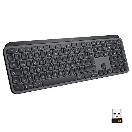 Logitech MX Keys Tastatur, QWERTZ [Mediamarkt]