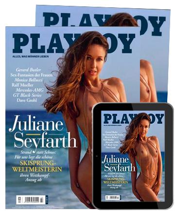 Playboy Kombi Jahres-Abo (Print + ePaper / 13 Ausgaben) für 101,60€ inkl. 90€ BestChoice Gutschein