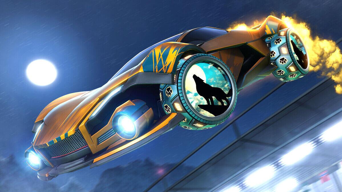 Rocket League - Moonpaw Räder kostenlos