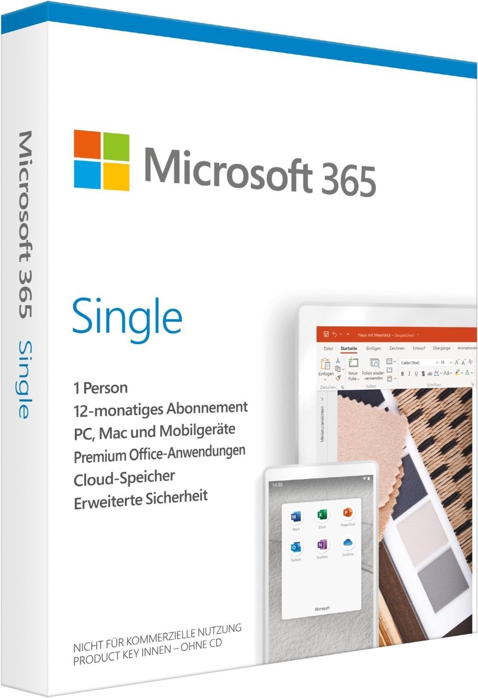 12 Monate Microsoft 365 Single für 1 Cent nach dem Kauf teilnehmender Notebooks bei Saturn oder MediaMarkt