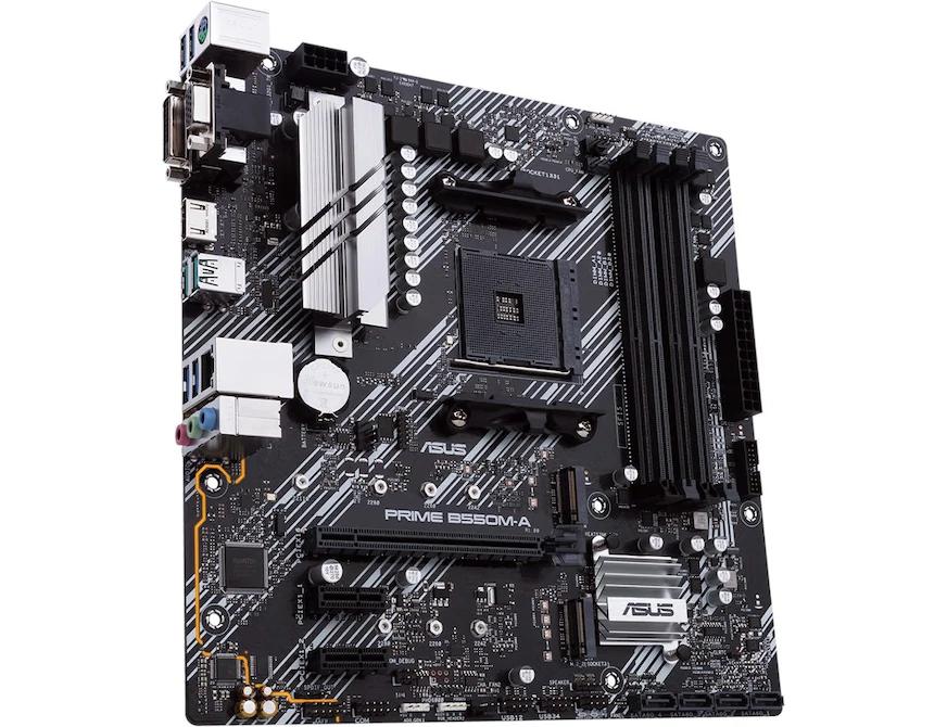 ASUS PRIME B550M-A AM4, AMD B550, mATX