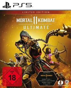 Mortal Kombat 11: Ultimate Limited Edition (PS5) und Ultimate Edition (PS4) für 34,99€ [MM/Saturn Abholung]