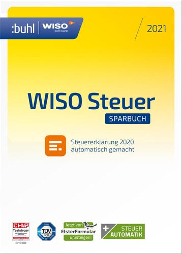 WISO Steuer-Sparbuch 2021 für Steuerjahr 2020 DOWNLOAD-Version - Vergleichspreis lt. idealo vom 09.03.2021