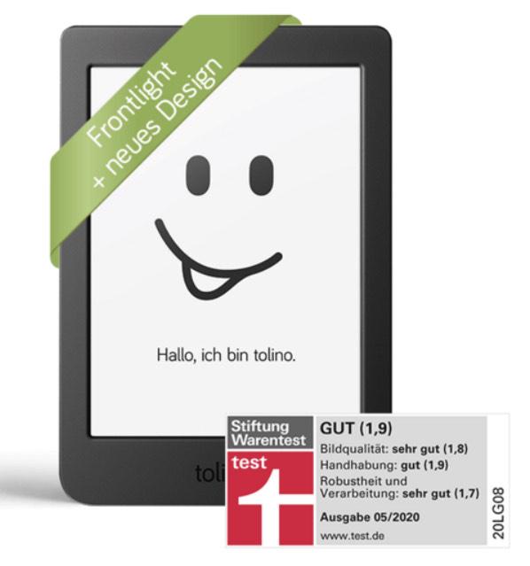 [Thalia/bol.de] Tolino page 2 eBook-Reader für 59€