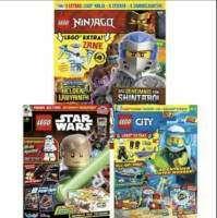 LEGO Magazine (mit Extras) im Jahresabo: LEGO Ninjago für 35,04 € | LEGO City und LEGO Star Wars für 31,96 €
