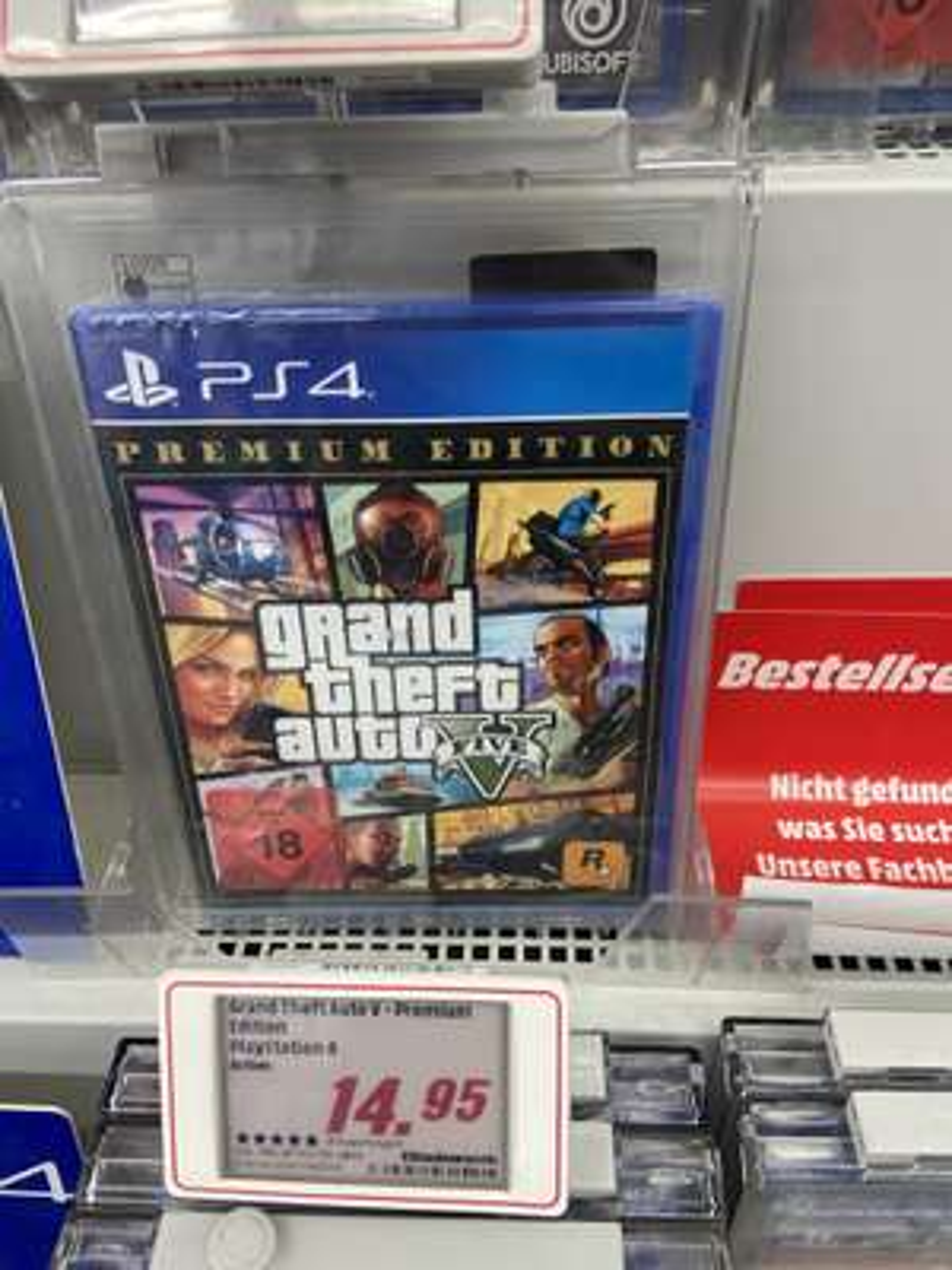 Grand theft auto 5 (GTA 5) Premium Edition PS4 (MediaMarkt Bonn Zentrum)