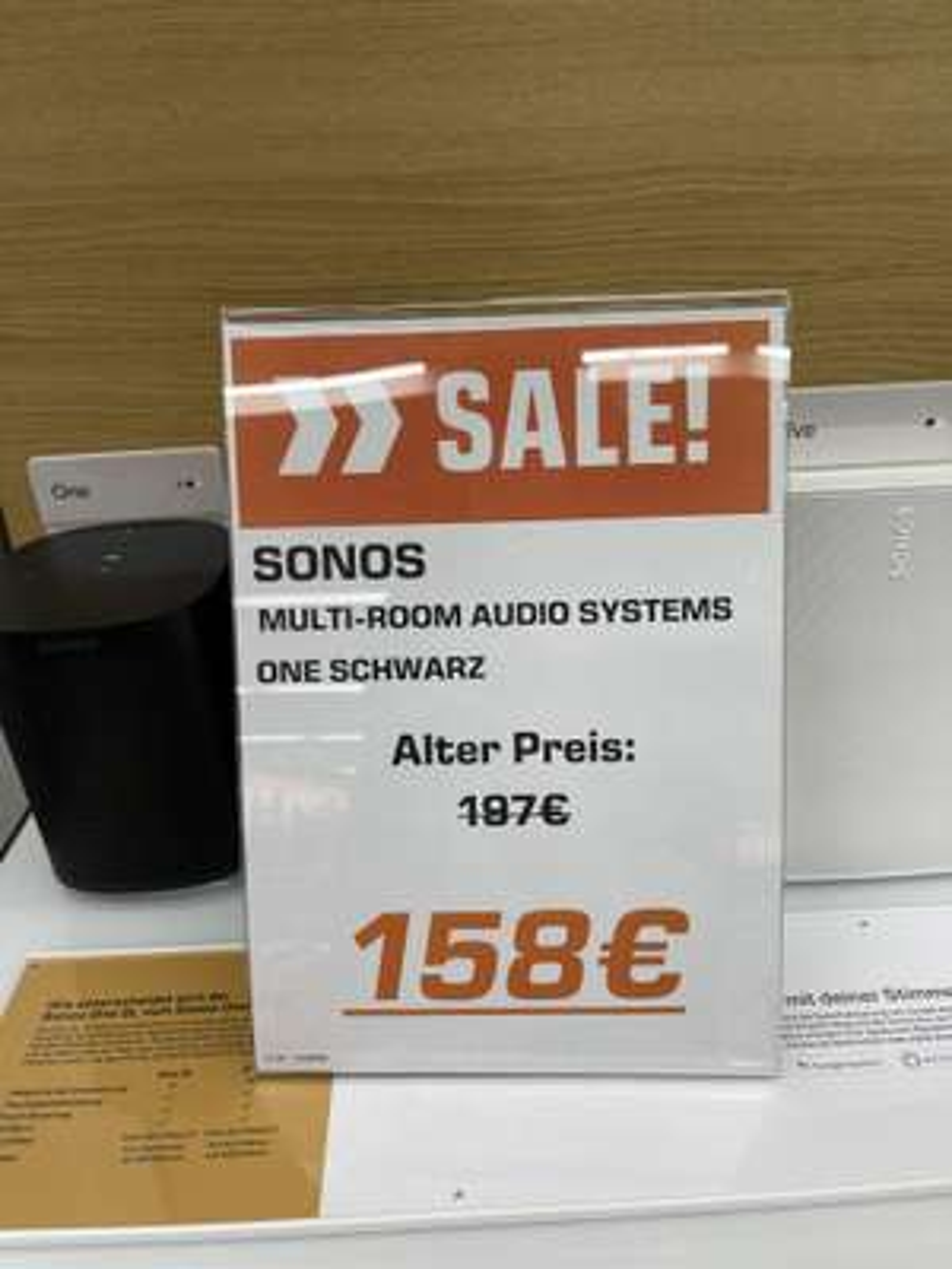 Sonos One Multi-Room Audio System # Saturn, Oberhausen