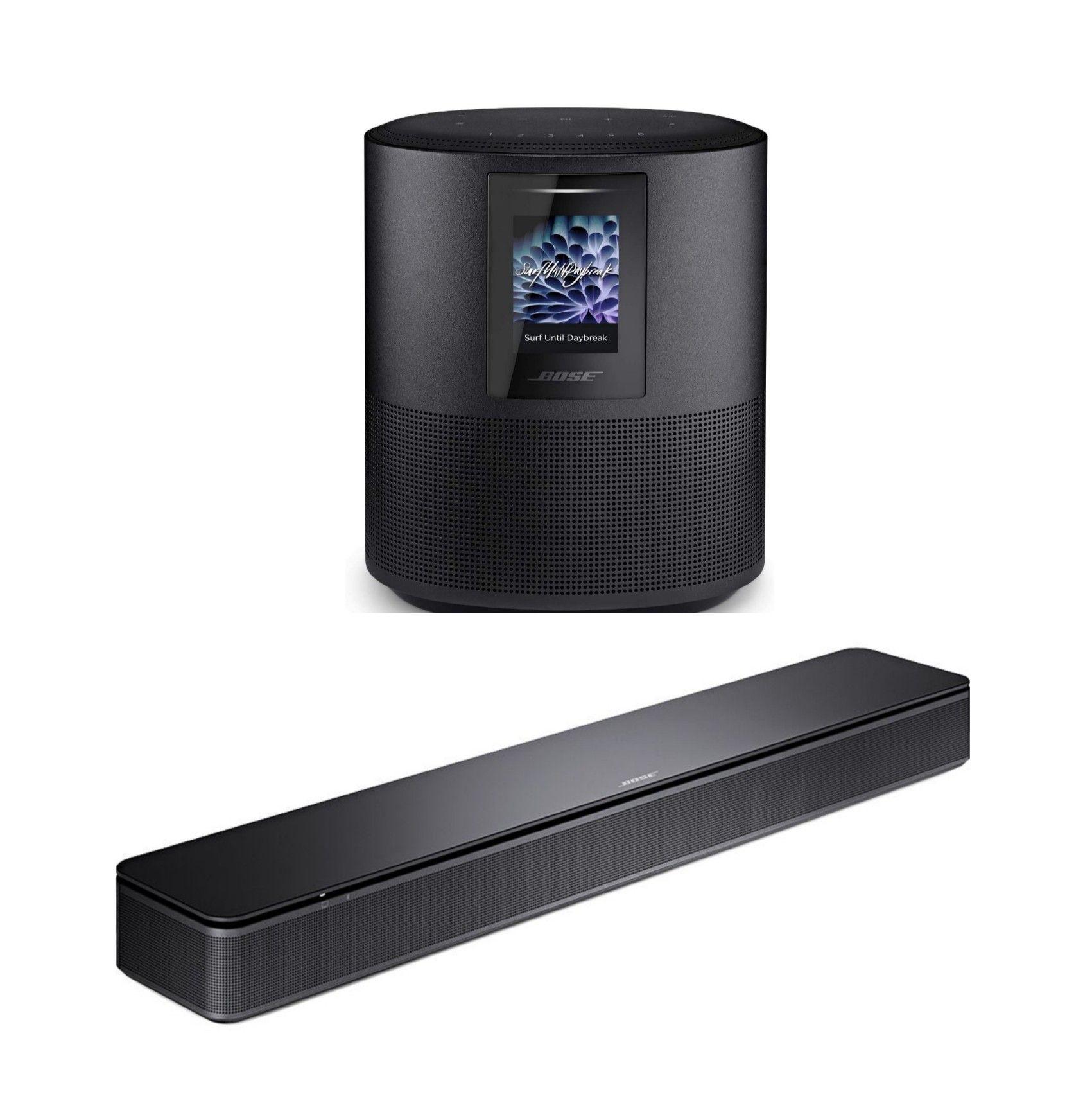 Bose TV Speaker Soundbar für 194,90€ / Home Speaker 500 für 274€
