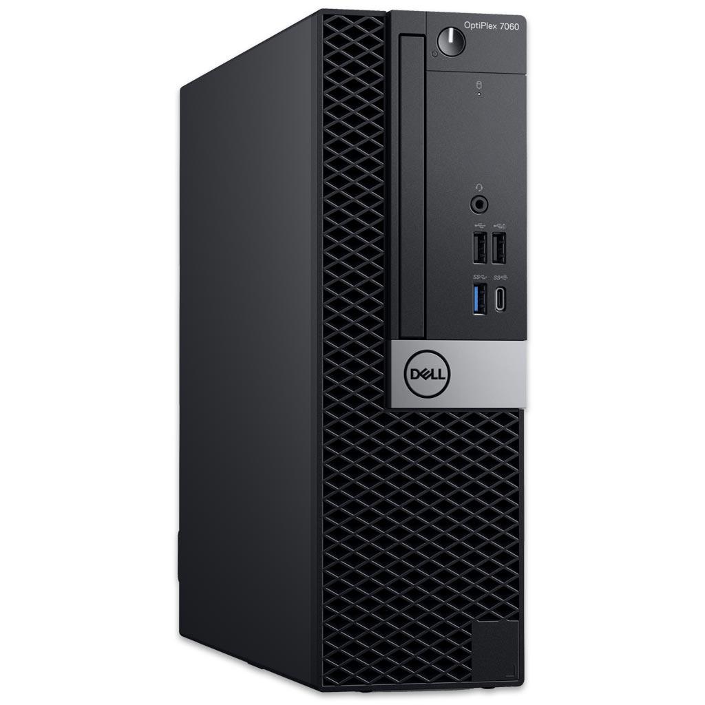 [gebraucht] Dell OptiPlex 7060 SFF PC (i5-8500, 8GB RAM, 4 Steckplätze, 250GB SSD, USB-C, 5x USB-A 3.0 & 4x 2.0, PS/2, Gigabit-LAN, Win10)