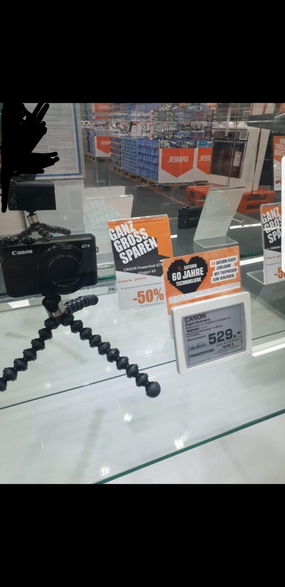 Canon PowerShot G7 X Mark II [sammeldeal ausstellungsstücke] [Saturn Bremen Lokal]