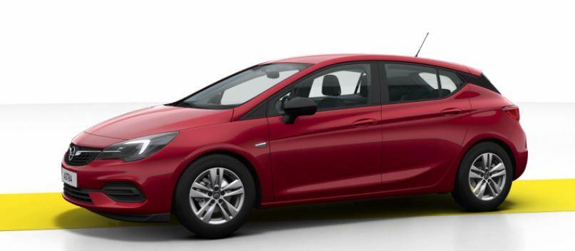 (Gewerbeleasing) Opel Astra Edition eff. 82,22€ mtl. 36M. | LF 0,32 | sofort verfügbar & kein BaFa | Bluetooth, Einparkhilfe, LED, Klima