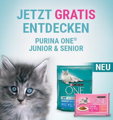 Kostenlos Testen 100% Rabatt auf Purina Katzenfutter bei fast allen Händlern