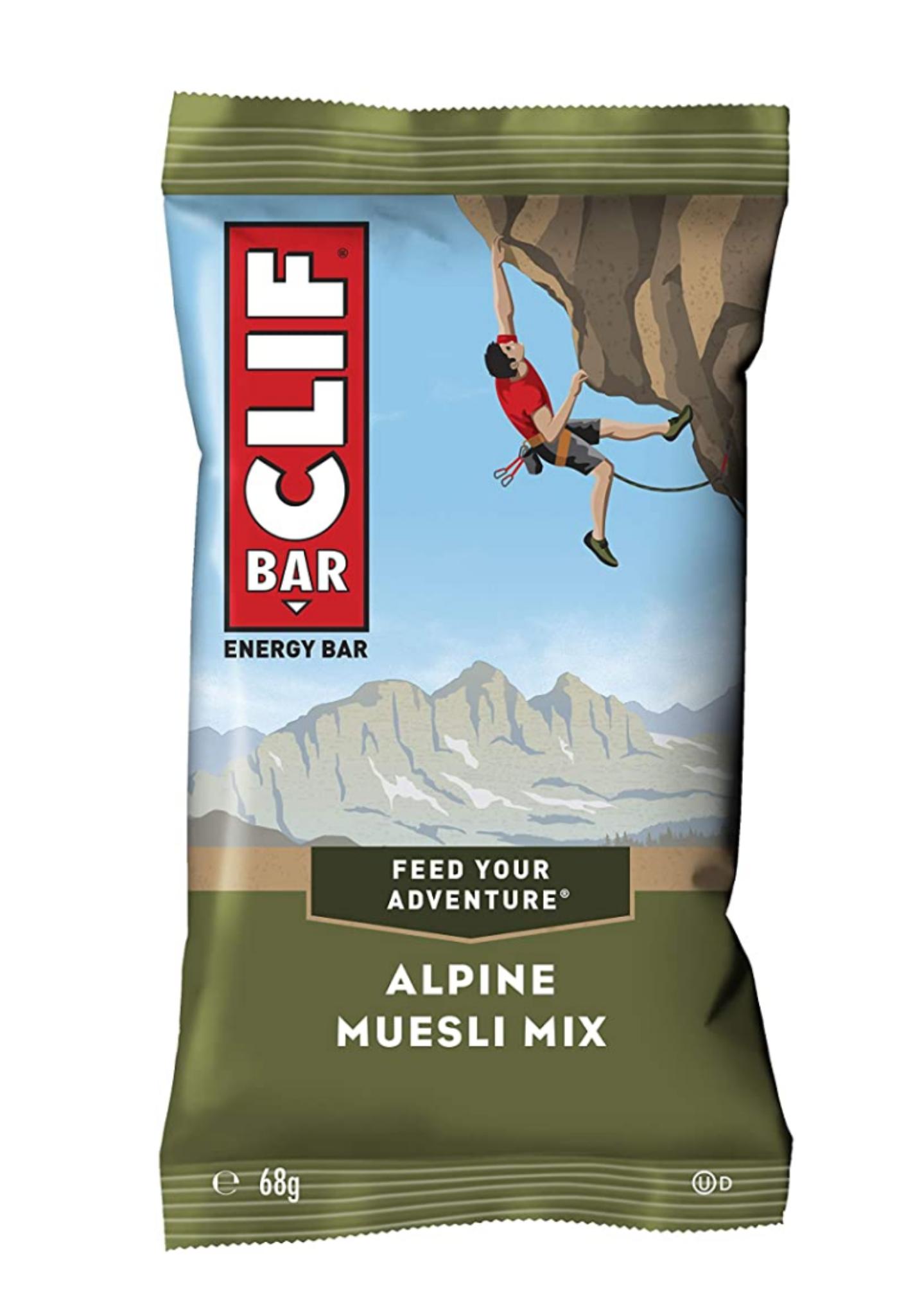 Cliff Bar Alpine Müsli Mix 12x 68g Amazon Sparabo
