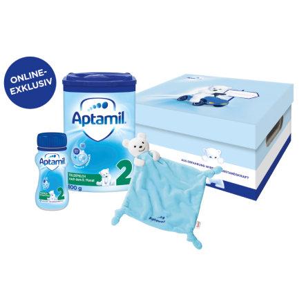 (Babymarkt) 5x Aptamil Folgemilch Paket 800 g + 200 g nach dem 6. Monat inklusive Sigikid Schnuffeltuch (9,99€ je Set)