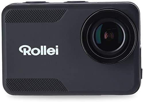 [Amazon] Rollei Action-Cam 6s Plus I 4K 30fps Unterwasserkamera wasserdicht bis 10m Tiefe, Slow-Motion I inkl. 7-TLG. Halterungen