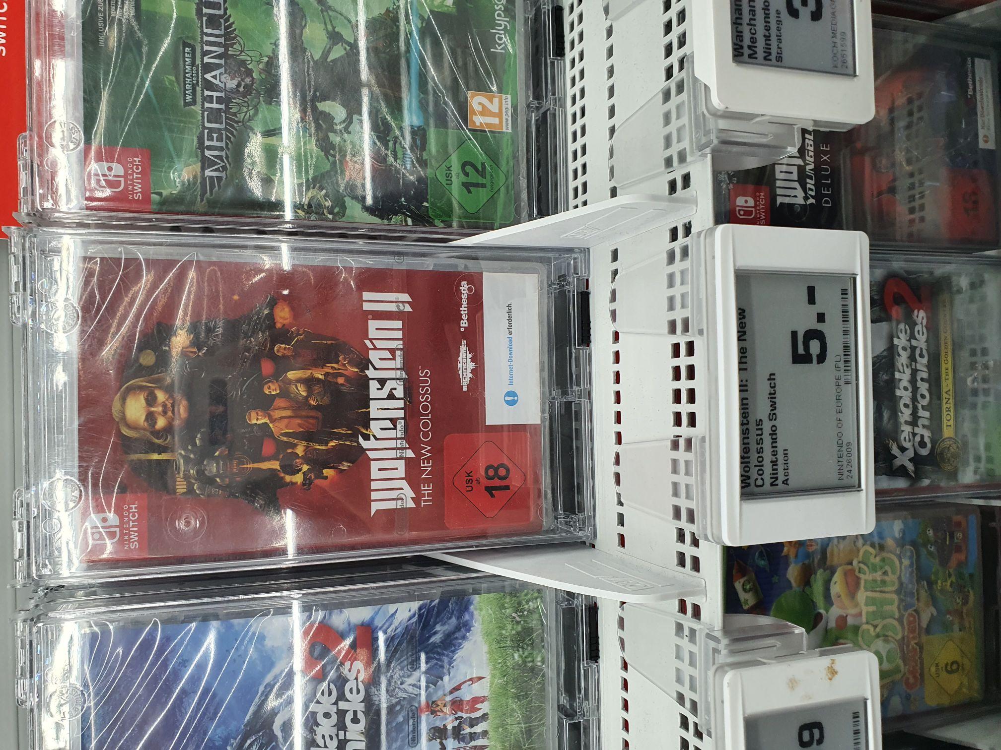 Lokal Saturn München Riem Wolfenstein 2 Nintendo Switch