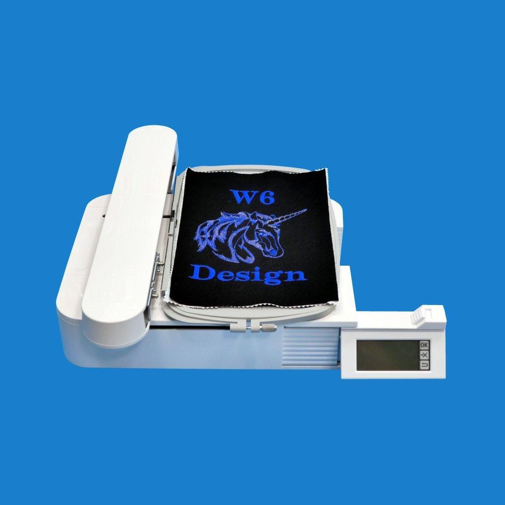 W6 Nähmaschinen Sticktisch / Stickeinheit EU7