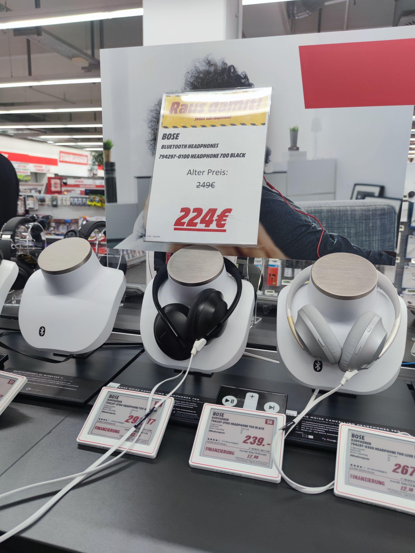[Lokal: Mediamarkt Weiterstadt] Bose Headphones 700