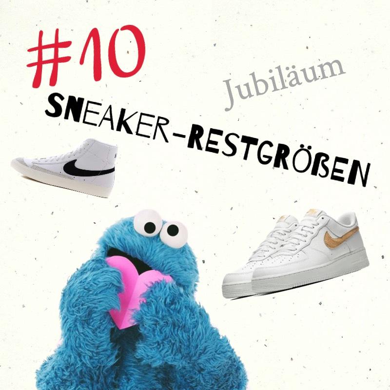 [Sammeldeal] Sneaker Restgrößen #10 Jubiläum, mit Nike Air Force, Air Jordan 1 und vielem mehr!