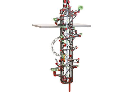 Fischertechnik Kugelbahn Baukasten Hanging Action Tower (780 Teile) [iBOOD]