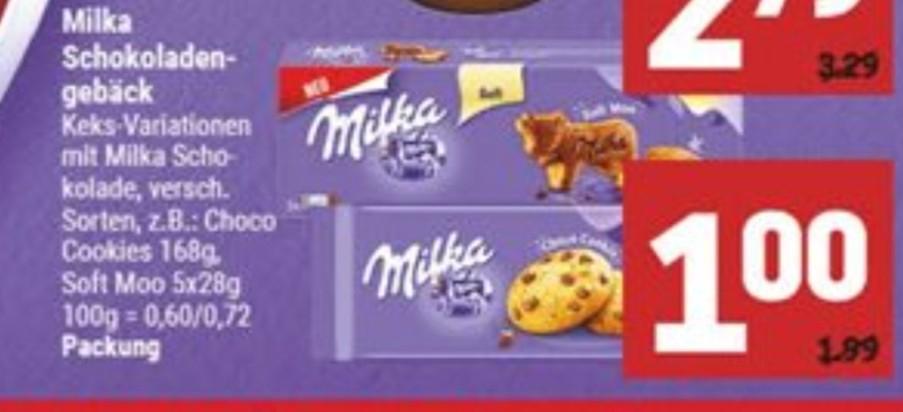 (Marktkauf) Milka Kekse für 1€