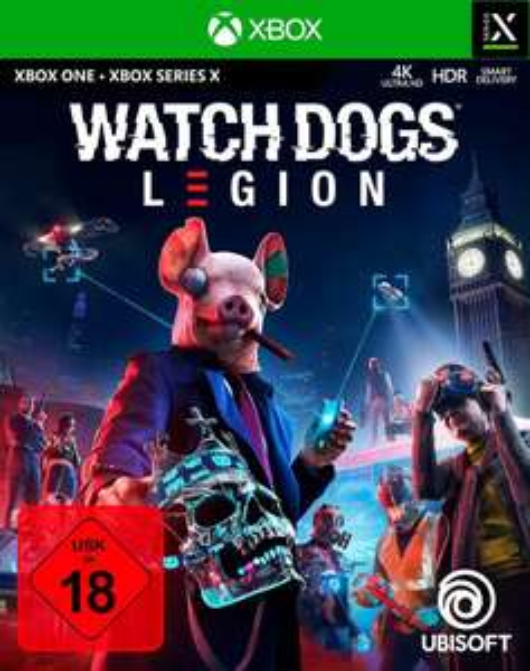 Watch Dogs: Legion (PS5 & Xbox Series X) für 24,99€ inkl. Versand (Otto UP)