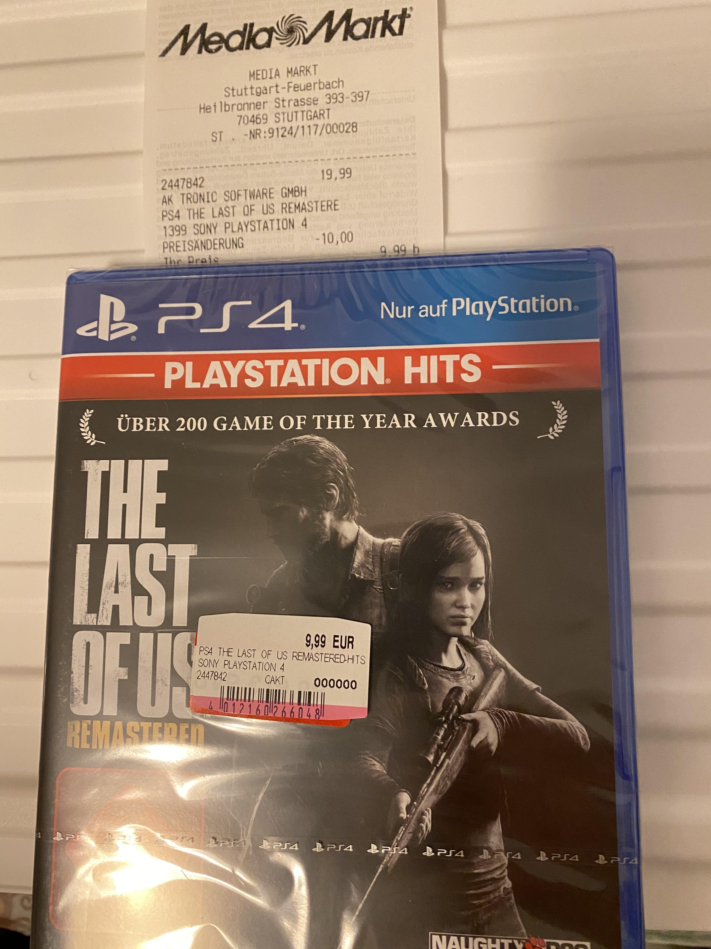 (Evtl. Lokal MM Stuttgart Feuerbach) PlayStation 4 Hits, z.B. Last of us Remastered, God of War etc.