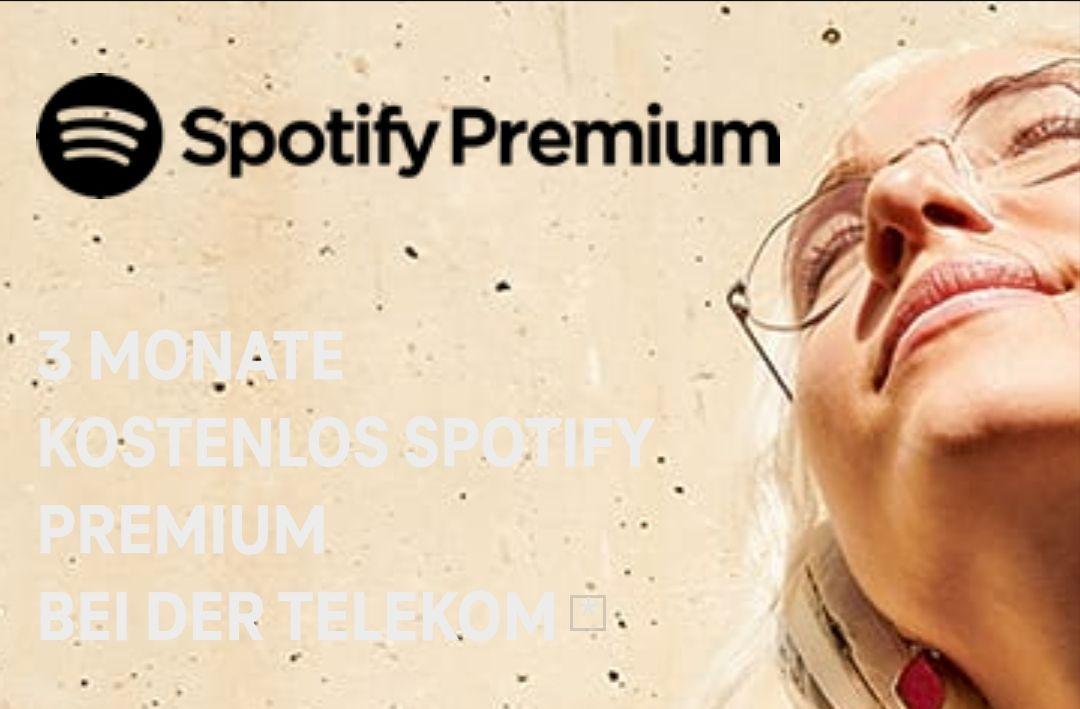 3 Monate Spotify Premium kostenlos für Telekom-/Magentakunden