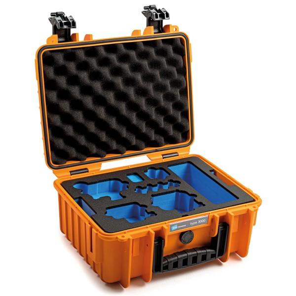B&W Transportkoffer Outdoor für GoPro 9 Type 3000 orange