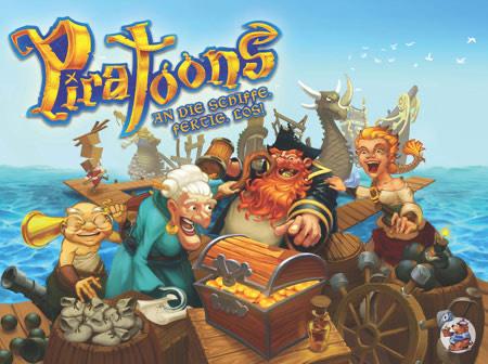 Piratoons (Brettspiel) bei der Spiele-Offensive im Angebot