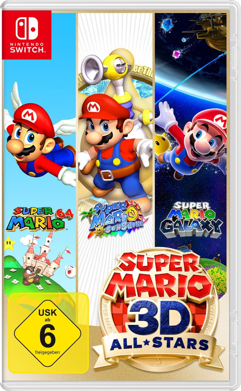 Super Mario 3D All-Stars Nintendo Switch für 39,99€ [Abholung Media Markt / Saturn / Expert]