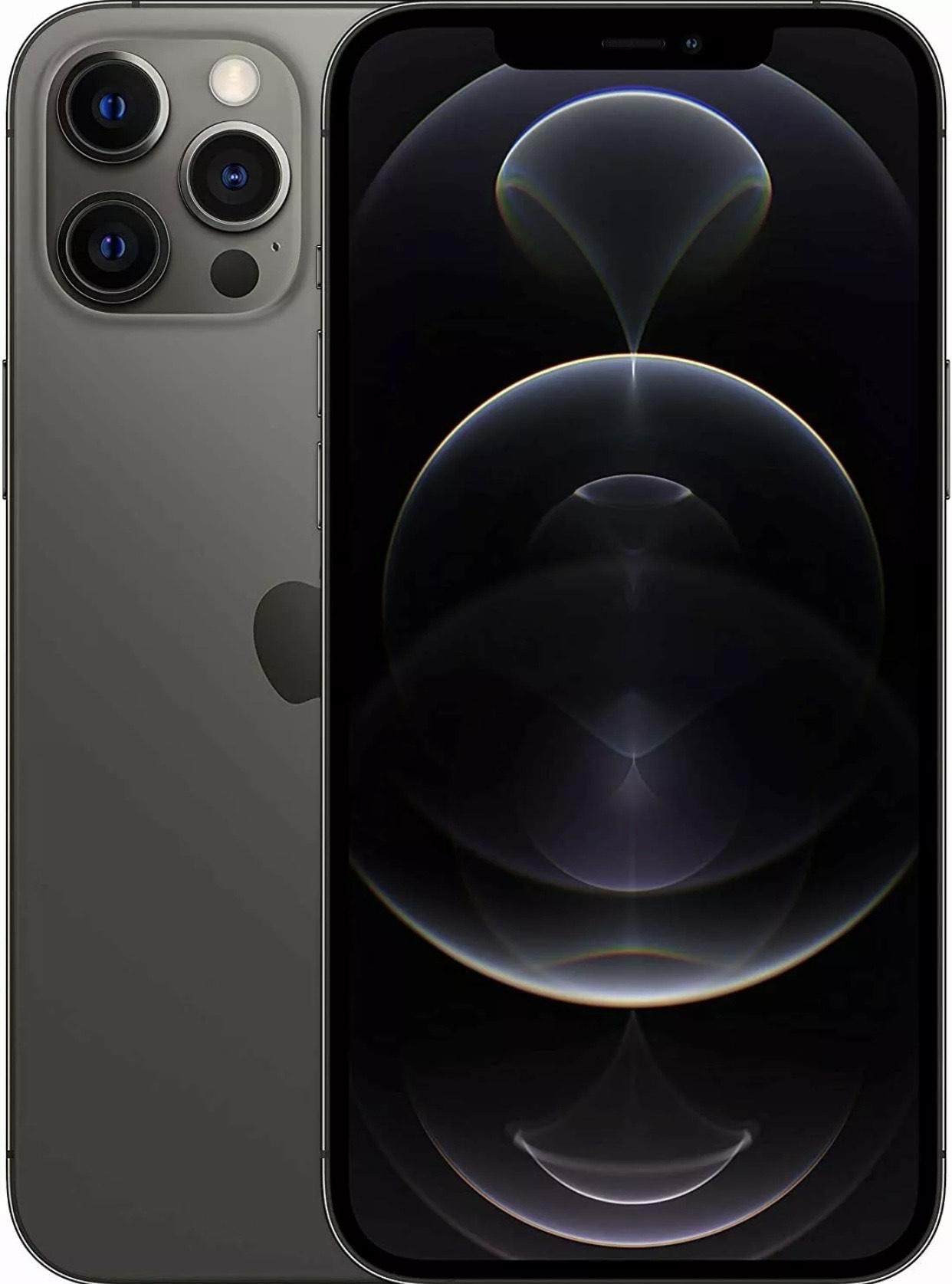 Apple iPhone 12 Pro Max 128GB Graphite Grau 6,7 Zoll Smartphone Händler OVP NEU