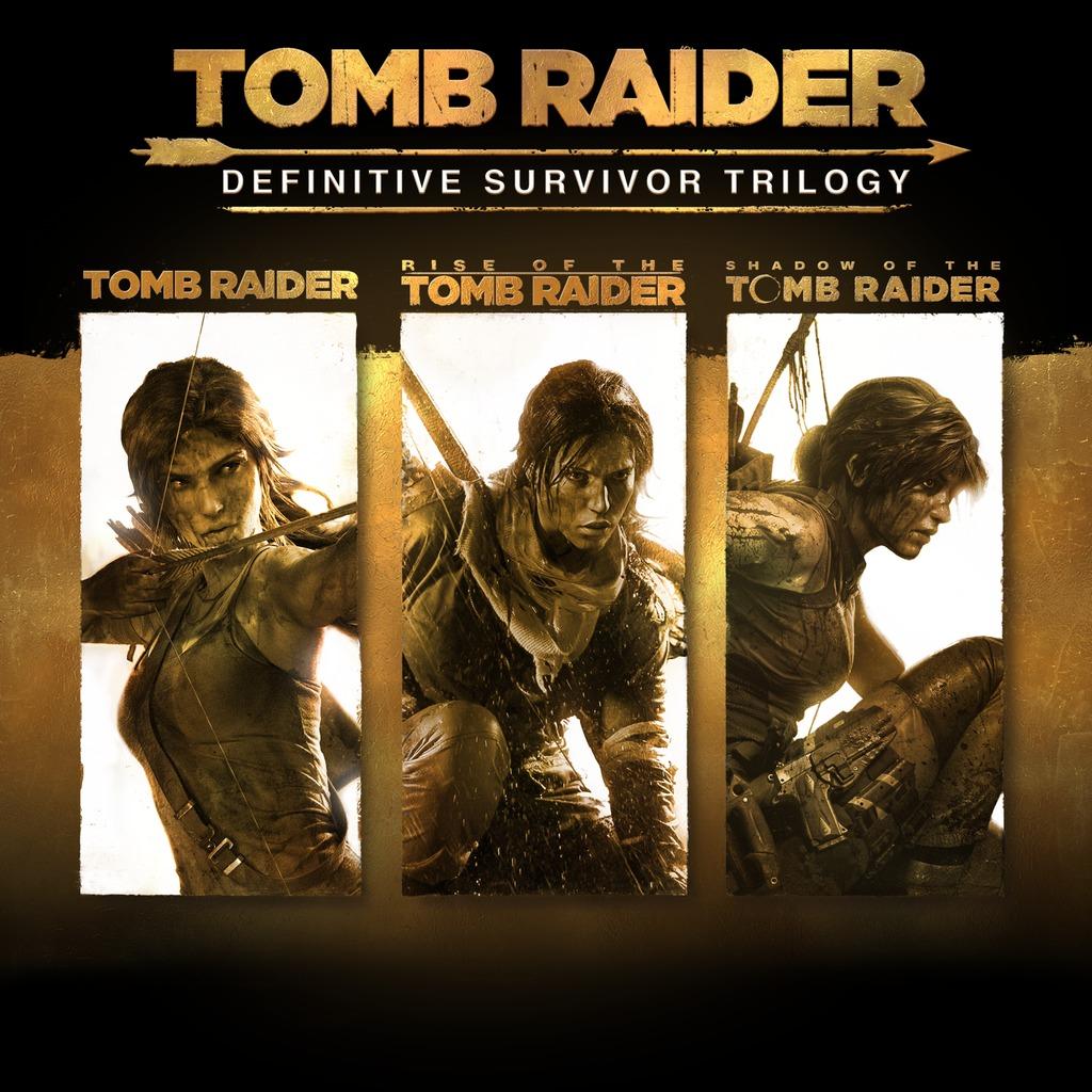 (PS4/Xbox) Tomb Raider: Definitive Survivor Trilogy (Playstation Store) (PS+ Abo benötigt)
