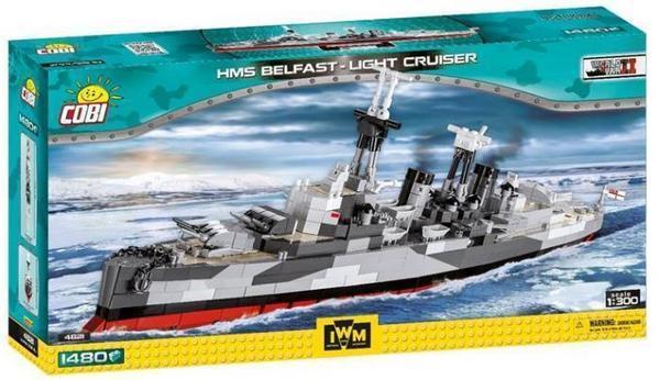 Thalia Cobi 4821 Hms Belfast Light Cruise / Cobi 2540 Königstiger 49,58Euro / Klemmbausteine