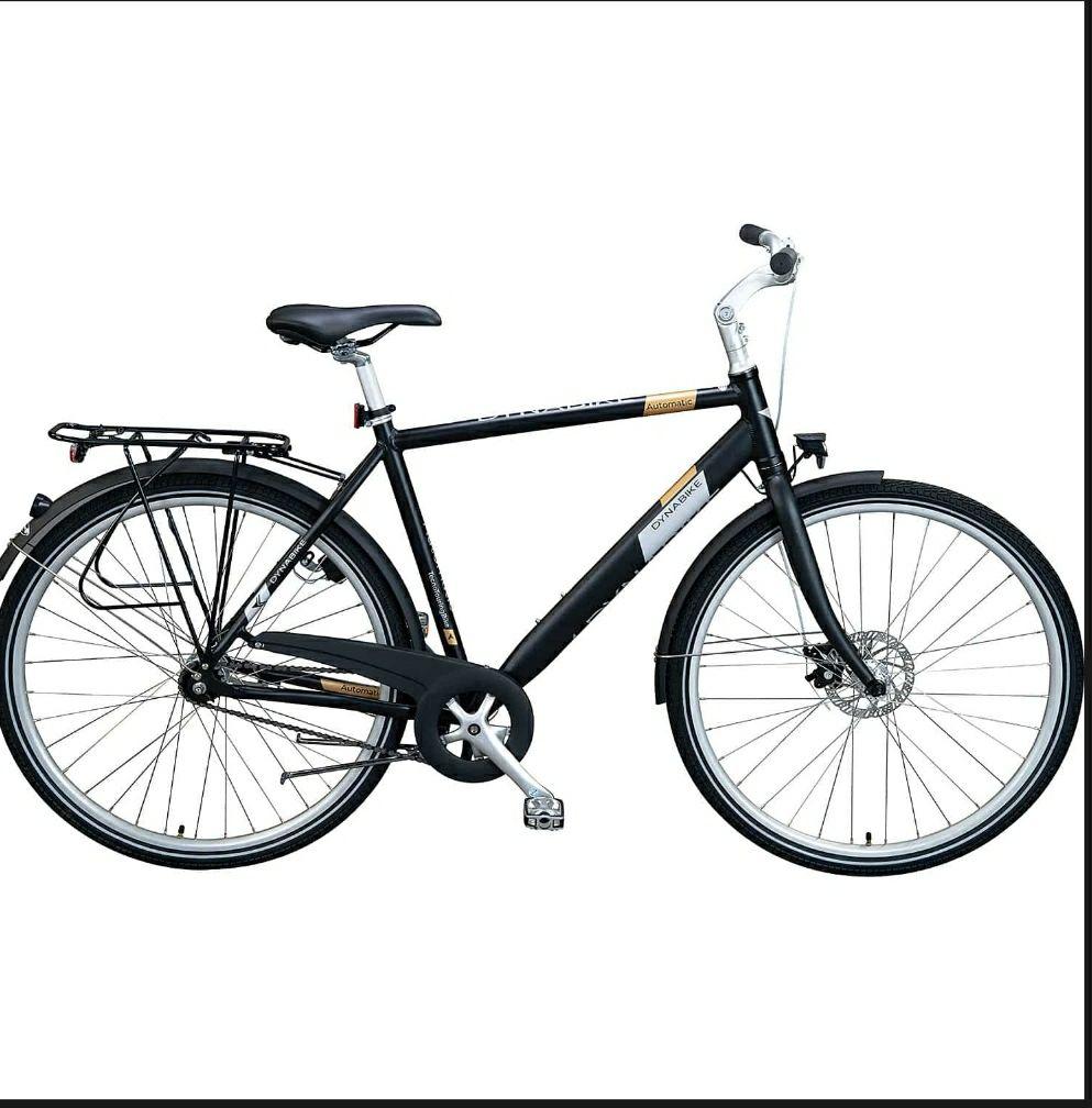 Dynabike Automatic Damen oder Herren Fahrrad mit Computerbild Abo