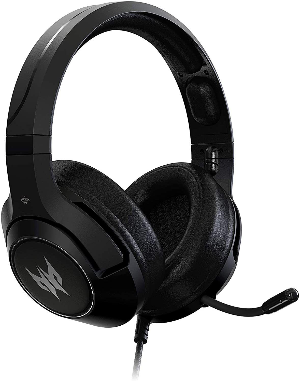Acer Predator Galea 350 Gaming Headset (TrueHarmony Soundscape-Technologie, 7.1 Virtual Sound, omnidirektionales Mikro