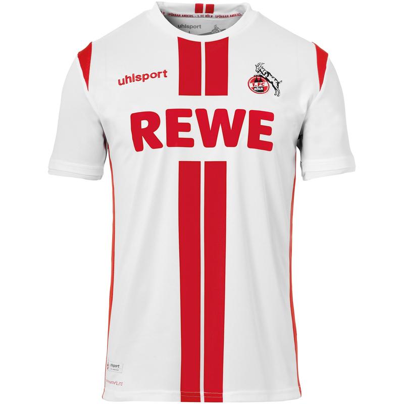 uhlsport 1. FC Köln Heimtrikot 2020/21 weiß (größen 116 bis Herren 5XL) Kindergößen für 34,99€