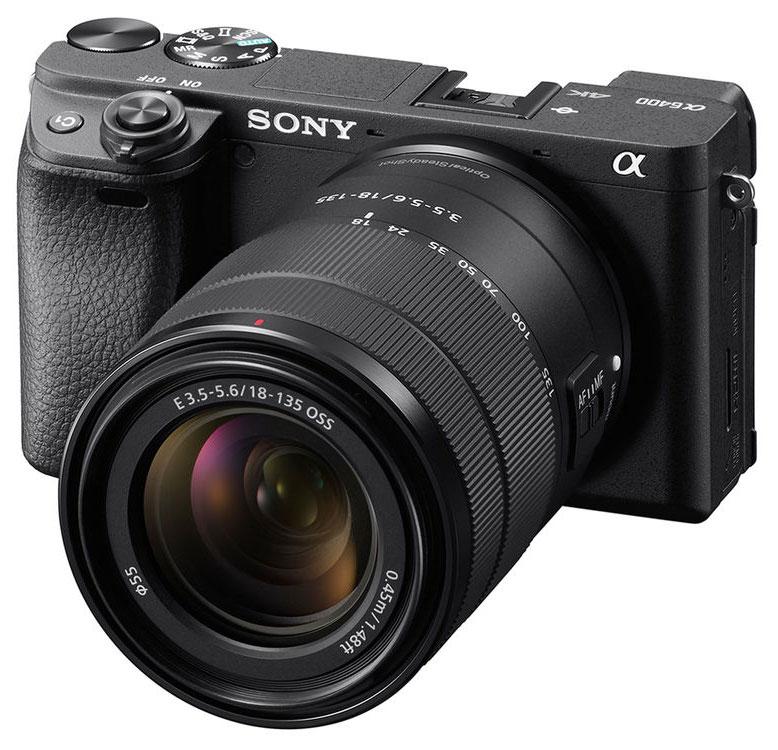 Sony Alpha 6400 + SEL 18-135mm 3.5-5.6 OSS