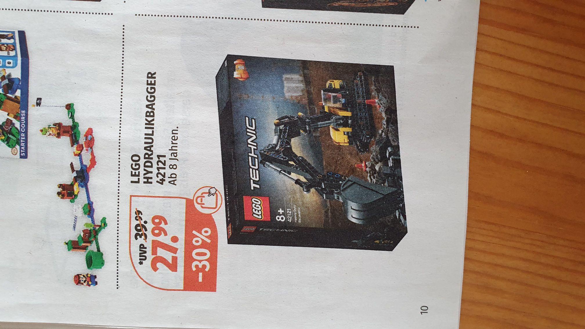 Lego Technic Hydraulikbagger 42121