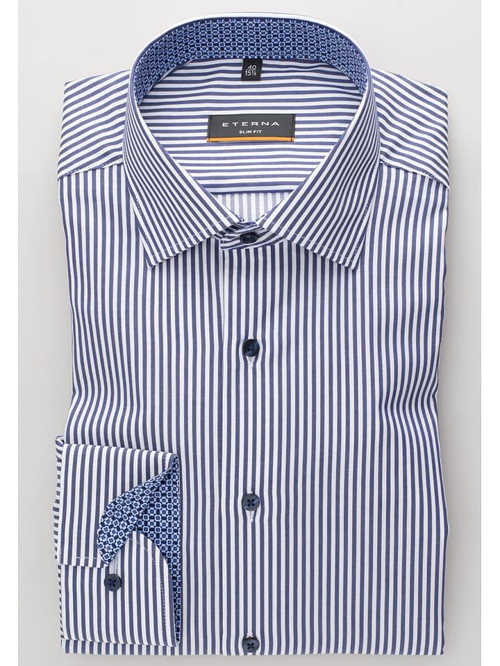 Eterna Hemden und Blusen ab zzgl. Versand bei Limango, z.B. gestreiftes Slim Fit Hemd