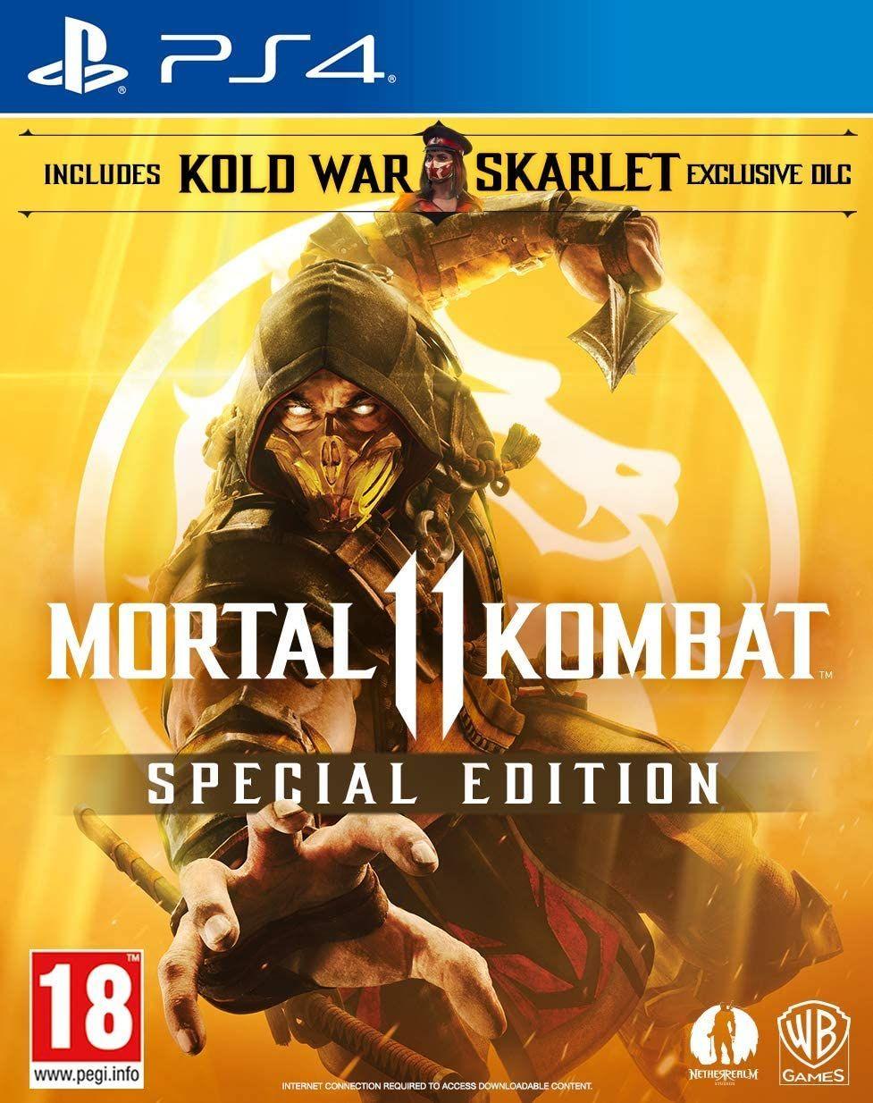 Mortal Kombat 11 - Amazon Exclusive Special Edition (PEGI) [Playstation 4 & Xbox One]
