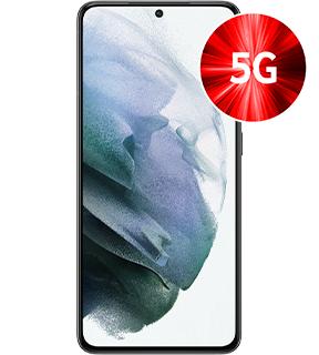 Samsung Galaxy S21 5G 128GB alle Farben für 1€ einmalig, 28,99€ mtl. im original Vodafone Vertrag 6GB LTE bis 500Mbit/s, 12GB 1€ extra/Monat