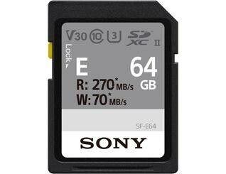 Sony SDHC 64GB Speicherkarte (V30, Class10, U3, UHS-II)