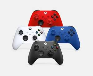 [MS | Cyberport] Microsoft Xbox Wireless Controller in Carbon Black, Shock Blue, Robot White oder Pulse Red