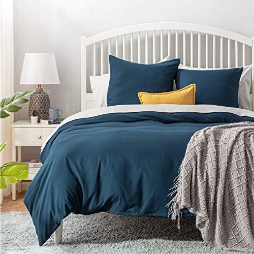 Bis zu 50% Rabatt auf Bedsure Bettwäsche in Blau&3 Größen - Prime