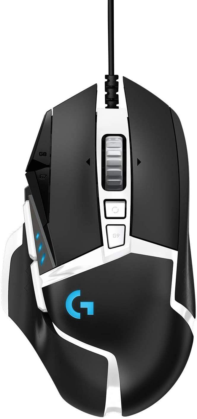 Logitech G502 Hero RGB Gaming-Maus SE (16.000 DPI, Gewichtstuning, 11 programmierbare Tasten, anpassbare Spielprofile, Lightsync, PC & Mac)