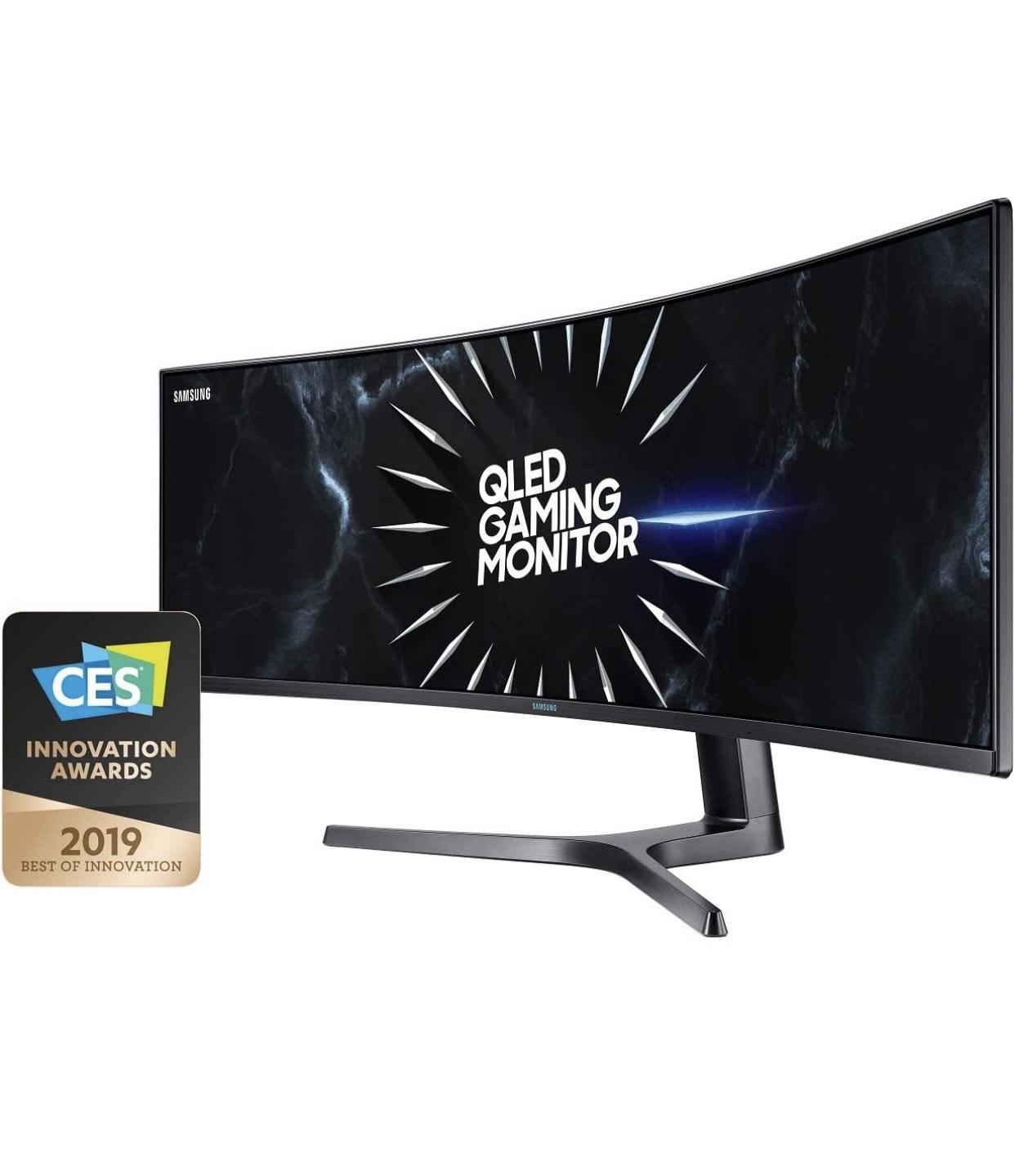 "QLED Gaming Monitor Samsung C49RG94SSU (49"") - Amazon Warehouse Deals FR"